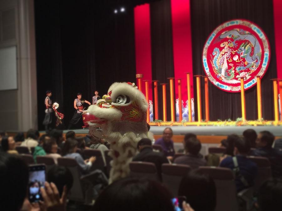 タイペイ・アイの獅子舞